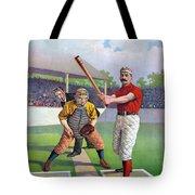 Baseball Game, C1895 Tote Bag
