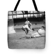 Baseball Game, C1915 Tote Bag