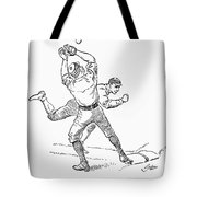 Baseball Players, 1889 Tote Bag