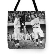 Baseball Players, 1920s Tote Bag