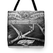 Baseball Polka, 1867 Tote Bag