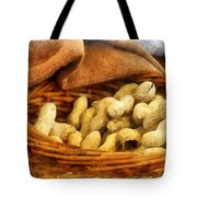 Basket Of Peanuts Tote Bag