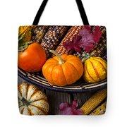 Basketful Of Autumn Tote Bag