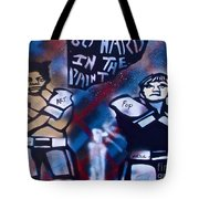 Basquait And Worhol Go Hard In The Paint Tote Bag