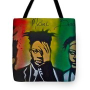 Basquait Me Myself And I Tote Bag