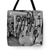Bass Fiddle Convention Tote Bag
