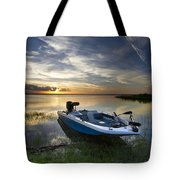 Bass Fishin' Evening Tote Bag