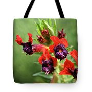 Bat Face Cuphea Tote Bag
