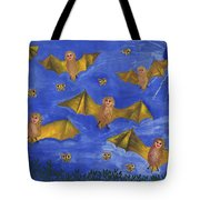 Bat People At The Pipistrelle Party Tote Bag
