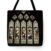 Bath Abbey Stained Glass Tote Bag