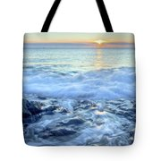 Bathed In Blue Tote Bag