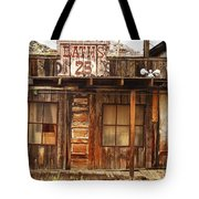 Baths Twenty Five Cents Tote Bag