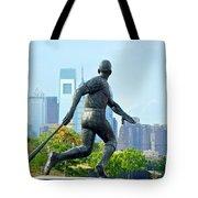 Batters City View Tote Bag