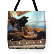 Battle For The King Spot Tote Bag