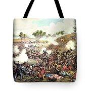 Battle Of Bull Run, 1861 Tote Bag