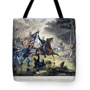 Battle Of Chantlly, 1862 Tote Bag