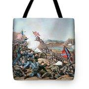 Battle Of Franklin, 1864 Tote Bag