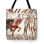Battle Of Hastings Bayeux Tapestry Tote Bag