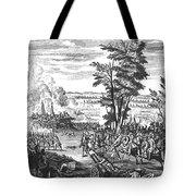 Battle Of Malplaquet, 1709 Tote Bag