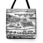 Battle Of Steinau, 1633 Tote Bag