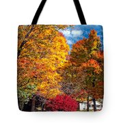 Battle Of The Maples Tote Bag