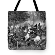 Battle Of The Thames Tote Bag