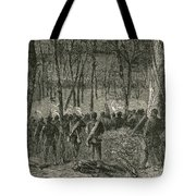 Battle Of The Wilderness, 1864 Tote Bag by Photo Researchers