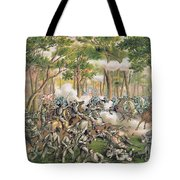 Battle Of The Wilderness May 1864 Tote Bag