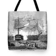 Battle Of Trafalgar, 1805 Tote Bag