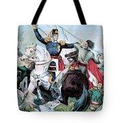 Battle Of Veracruz, Mexican-american Tote Bag
