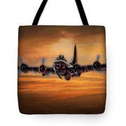 Battle Scarred But Heading Home Tote Bag
