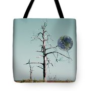 Battle Scarred Tote Bag