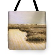 Bay City Pier Tote Bag