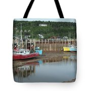 Bay Of Fundy - Low Tide Tote Bag