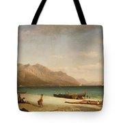 Bay Of Salerno Tote Bag