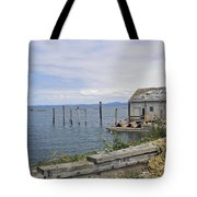 Bayside Boat Barn Tote Bag