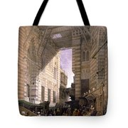 Bazaar Of The Silk Mercers Tote Bag