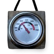 Bbq Thermometer Tote Bag