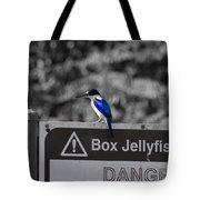 Be Warned Tote Bag