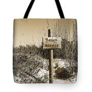 Beach Access Tote Bag