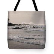 Beach At Tofino  Tote Bag