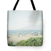 Beach At Wailea  Tote Bag