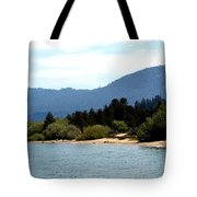 Beach Biking Lake Tahoe Tote Bag