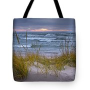 Beach By Holland Michigan No 0192 Tote Bag