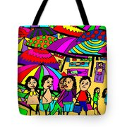 Beach Chat Tote Bag