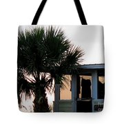 Beach Cottage Clothesline Tote Bag