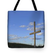 Beach Cross Tote Bag