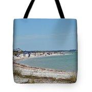 Beach Day On Honeymoon Island Tote Bag