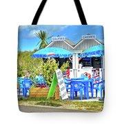 Beach Food Shack France Tote Bag