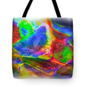 Beach Glass Abstract Tote Bag